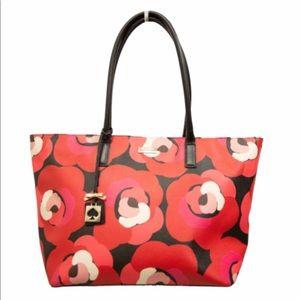 Kate Spade Flowers Tote Bag.